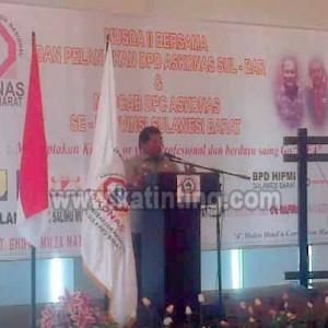 Gubernur Sulbar Harapkan ASKONAS Mendorong Percepatan Pembangunan