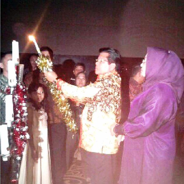 Natal Pemprov Sulbar, Hidup Bersama Dikeluarga Allah
