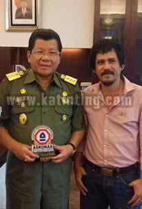 Ketua DPD Askonas Sebut Anwar Bapak Pembangunan