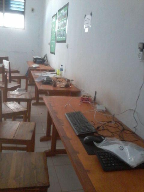 Laboratorium SMK Negeri 1 Tapalang