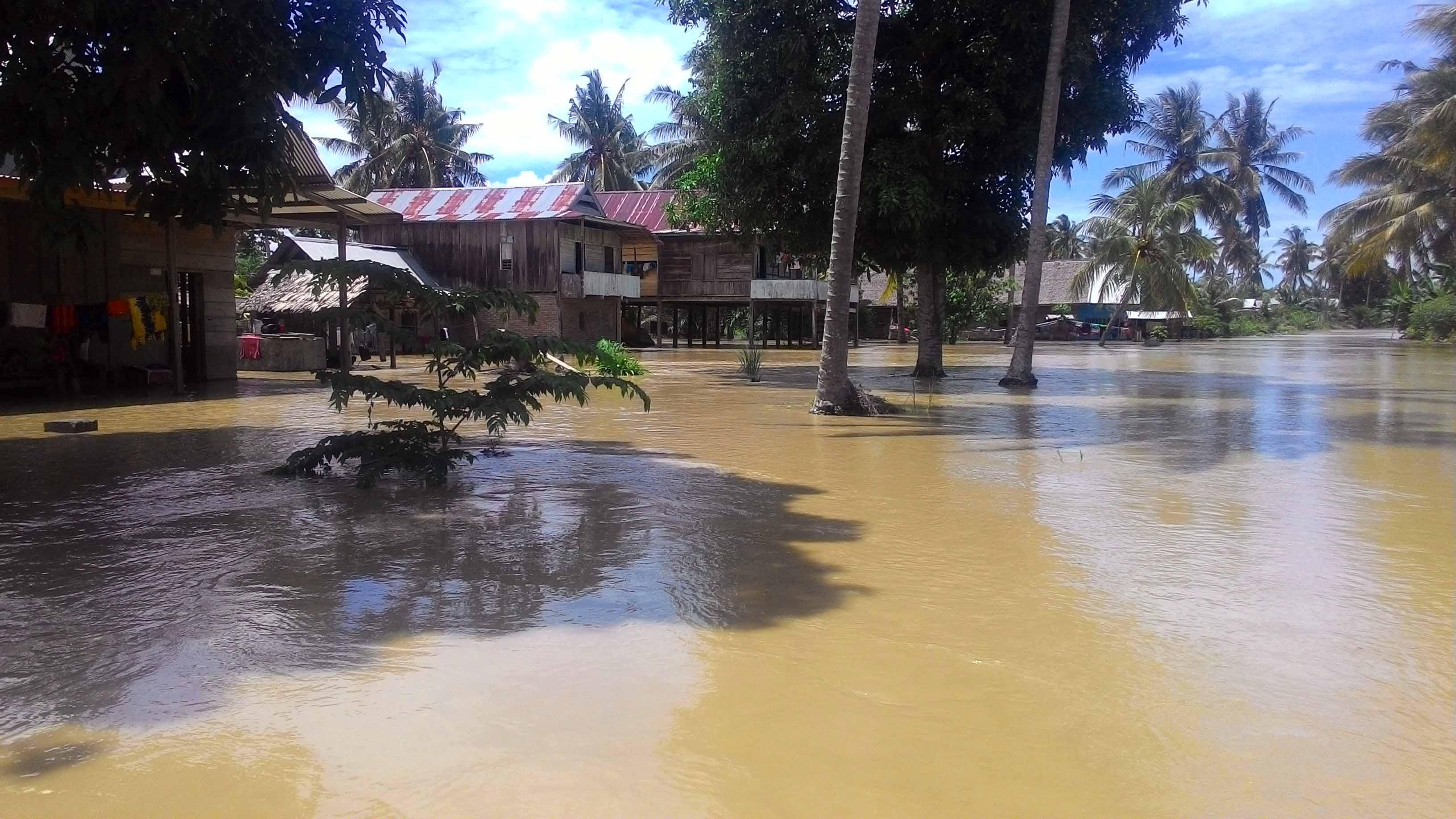 Banjir Luapan Sungai Lariang