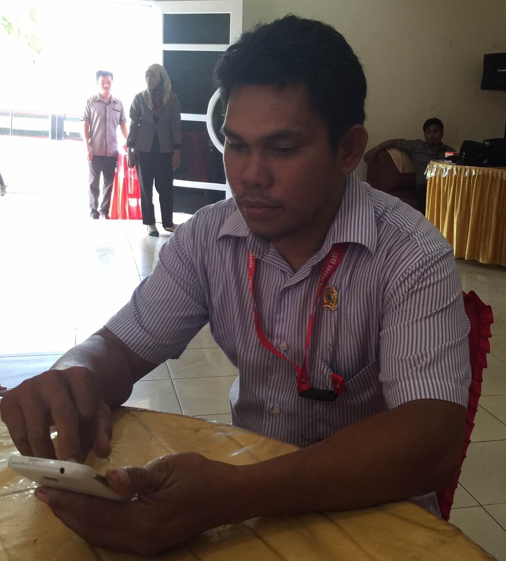 Sekretaris LAKI Matra Awaluddin