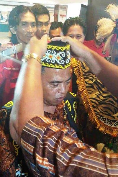 Lukman Said saat di Kalimantan