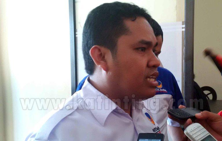 Rahim, Ketua DPW Nasdem Sulbar