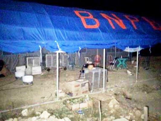 Tenda Pengungsian BPBD Matra