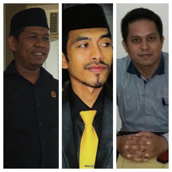 Kiri - Kanan: Ikram, Fandy dan Nasrun