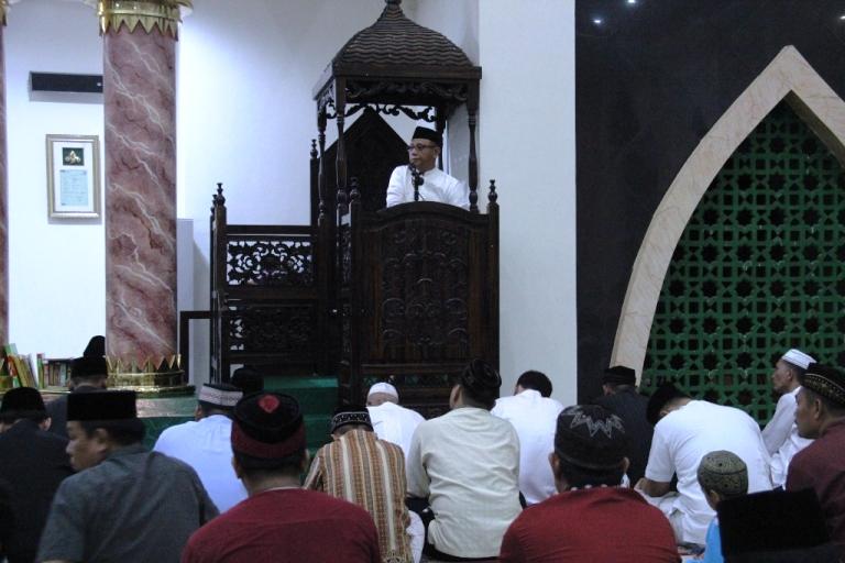 Habsi Wahid dimalam pertama Ramadhan