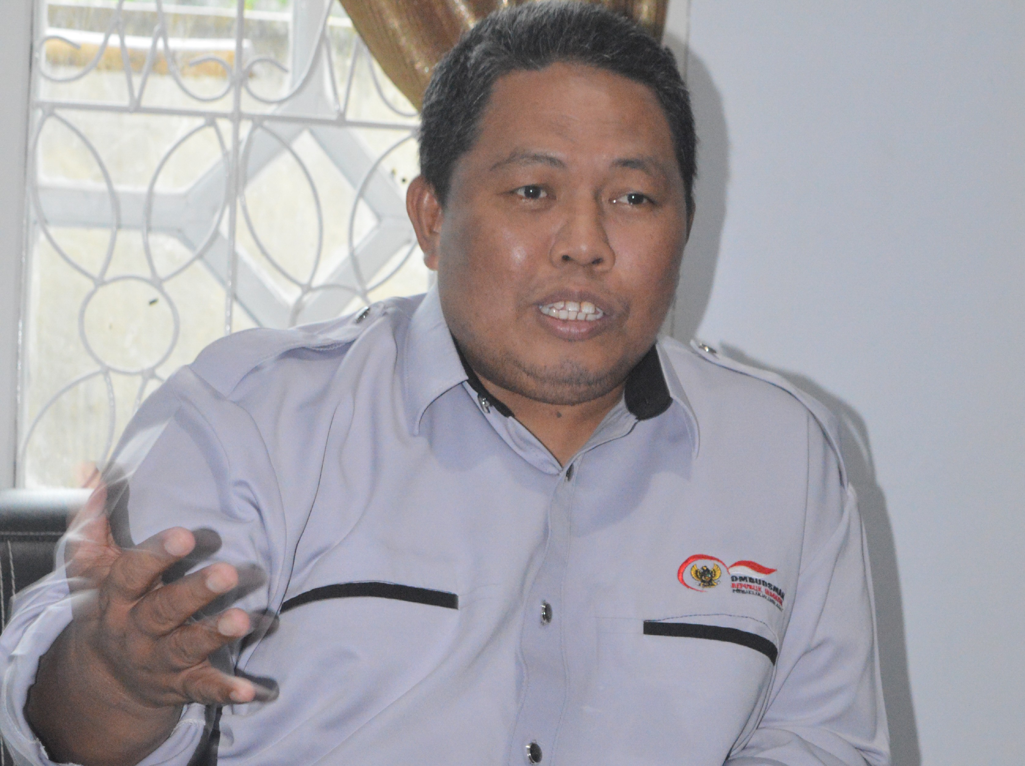 Lukman Umar Kepala Perwakilan Ombudsman RI Sulbar