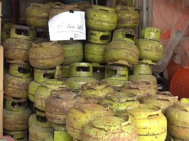 Tabung Gas 3 Kg yang Kosong