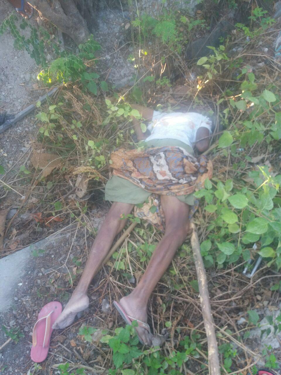 Foto Humas Polda: Sosok Mayat perempuan yang ditemukan belakang RS Majene