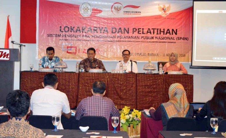 Lokakarya dan Pelatihan SP4N