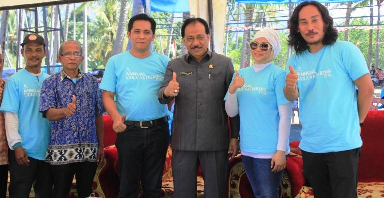 Foto Bersama Sekda Mamuju, Perwakilan Unicef, PTTEP dan Yayasan Karampuang