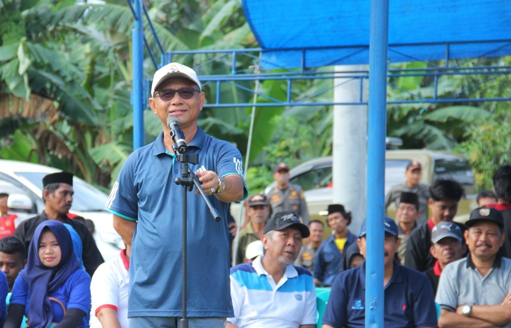 Habsi Wahid saat memberi sambutan