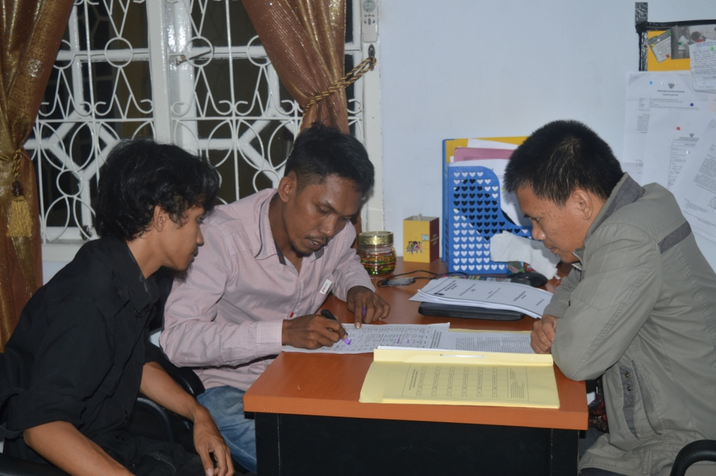 HMPP saat melapor ke Ombudsman Sulbar