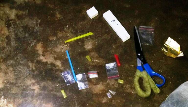 Barang Bukti Penangkapan Narkoba