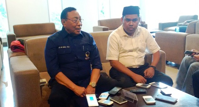 H. M. Malkan Amin bersama Abd. Rahim