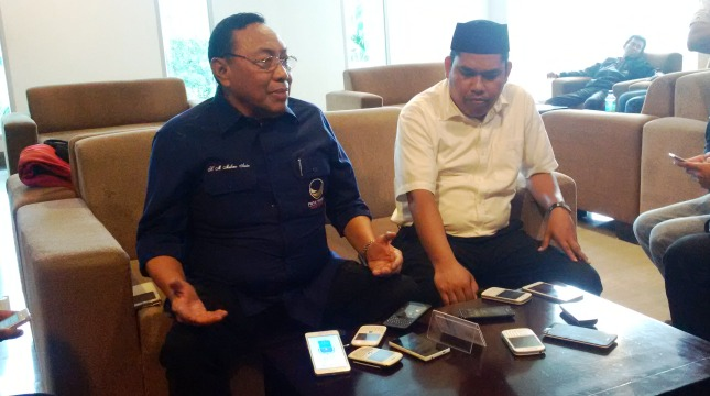 H. M. Malkan Amin bersama Abd Rahim
