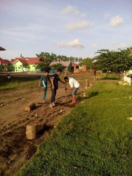 Terlihat pembenahan kampus STIT DDI Pasangkayu