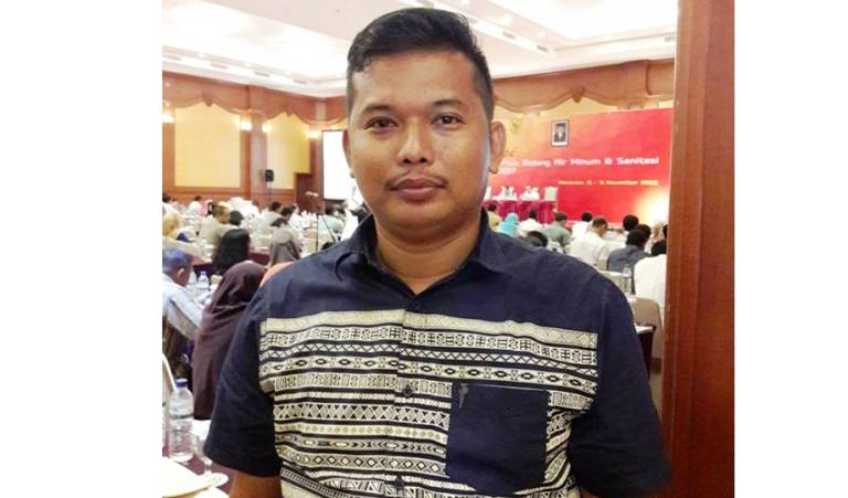Kepala Bidang Cipta Karya Dinas PU Matra, Sumarlin