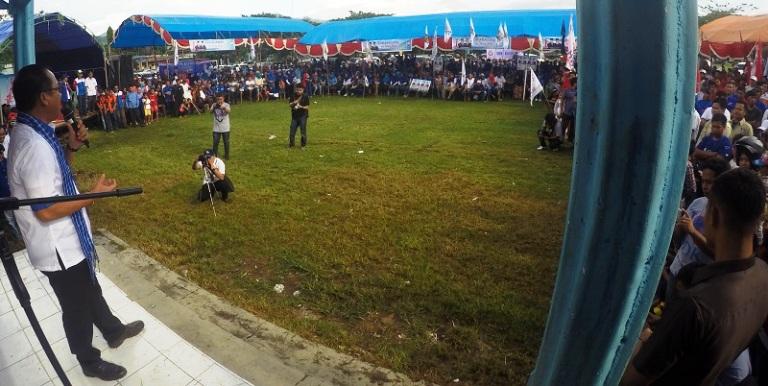 SDK dalam Orasi Politik di Tapalang